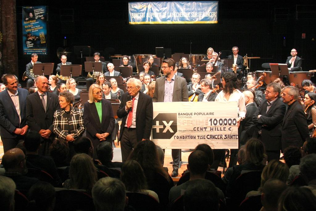 Concert rotary 5 mars 2020 photo remise de cheque copie